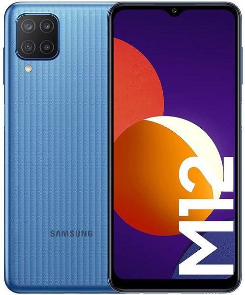 Samsung Galaxy M12 Dual Sim M127FD 128GB Blue (4GB RAM)