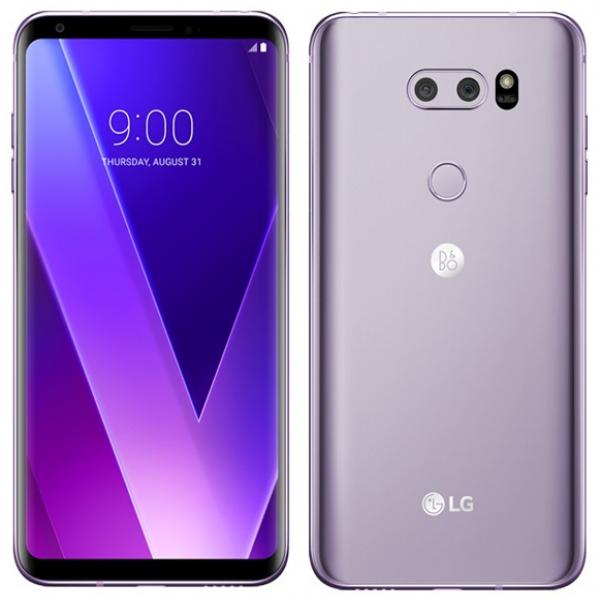 LG V30+ Dual Sim H930DS 128GB Violet With B&O Earphones