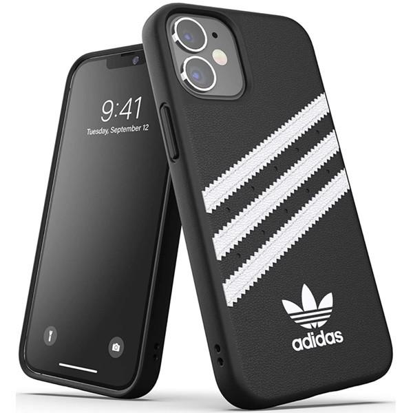 Adidas 3-Stripes Snap Case for iPhone 12 Mini Black/White