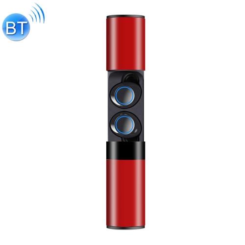 Drawer Type S2 Ear-in TWS Bluetooth V5.0 Wireless Earphones (Red)