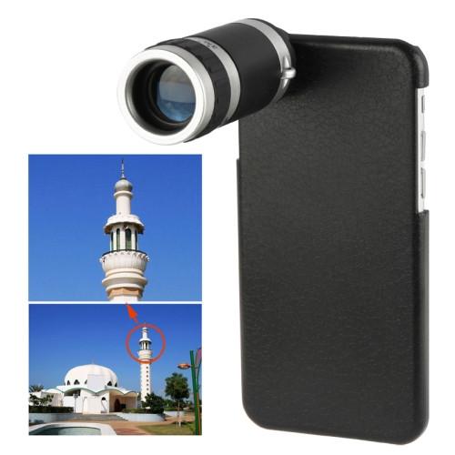 8 X Mobile Phone Telescope for iPhone 6 (Black)