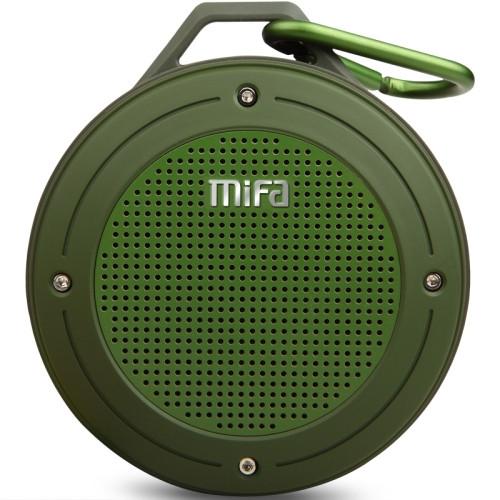 mifa IXP6 Waterproof Mini Portable Bass Wireless Bluetooth Speaker (green)