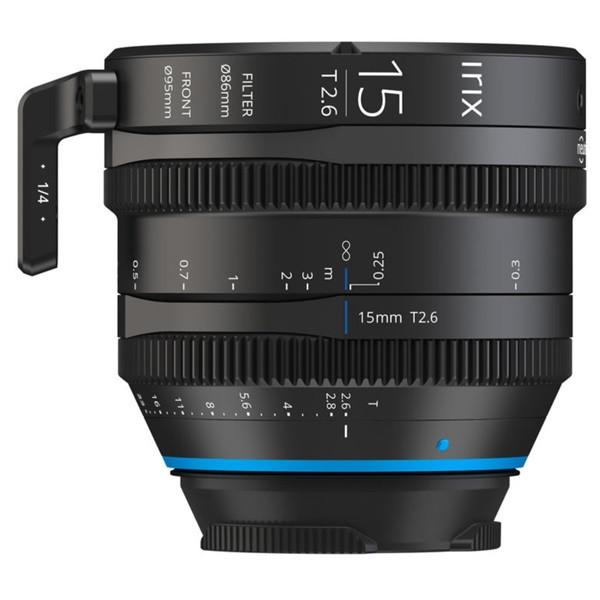 Irix Cine 15mm T2.6 (Canon EF) Meter