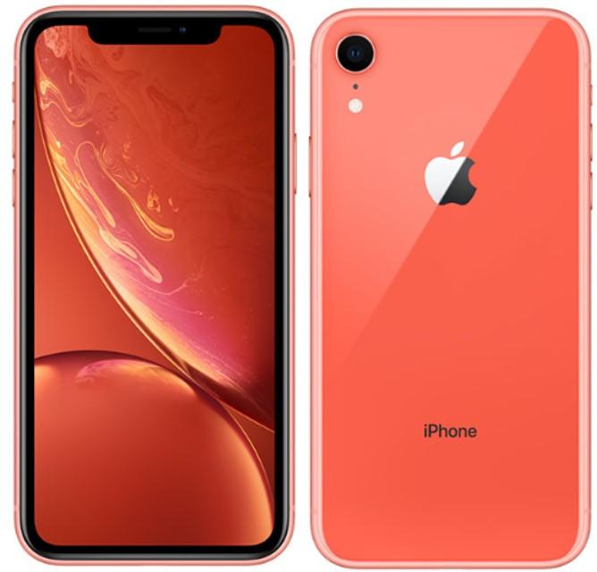 Apple iPhone XR A2108 Dual Sim 64GB Coral