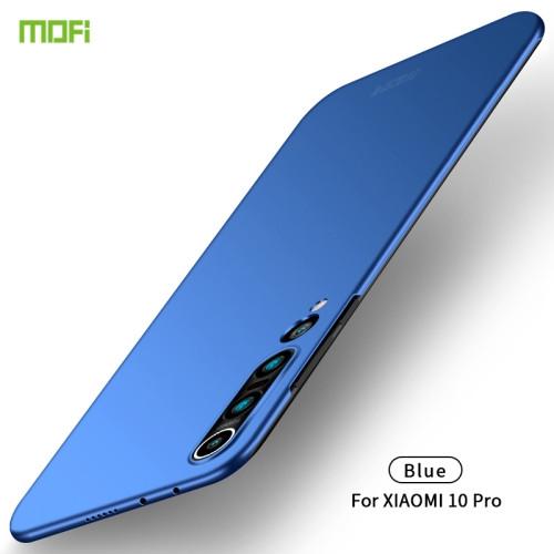 MOFI Frosted PC Ultra-thin Hard Case for Xiaomi Mi 10 Pro (Blue)