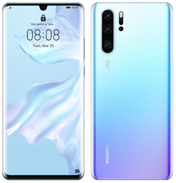 Huawei P30 Pro VOG-L29 Dual Sim 256GB Crystal (8GB RAM)