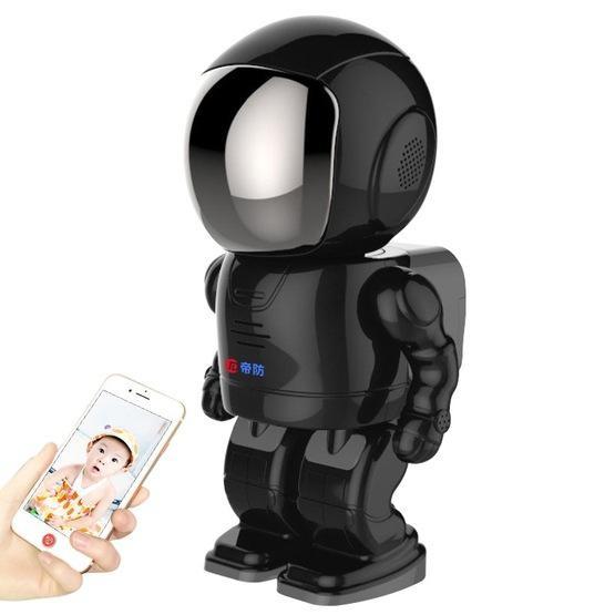 Difang DF- Y006 1080P Intelligent Robot Wireless Camera (Black)