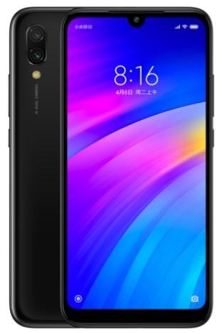 Xiaomi Redmi 7 Dual Sim 64GB Black (3GB RAM) фото