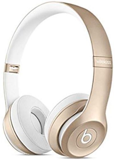Beats Solo 2 WIRELESS Gold Headphones