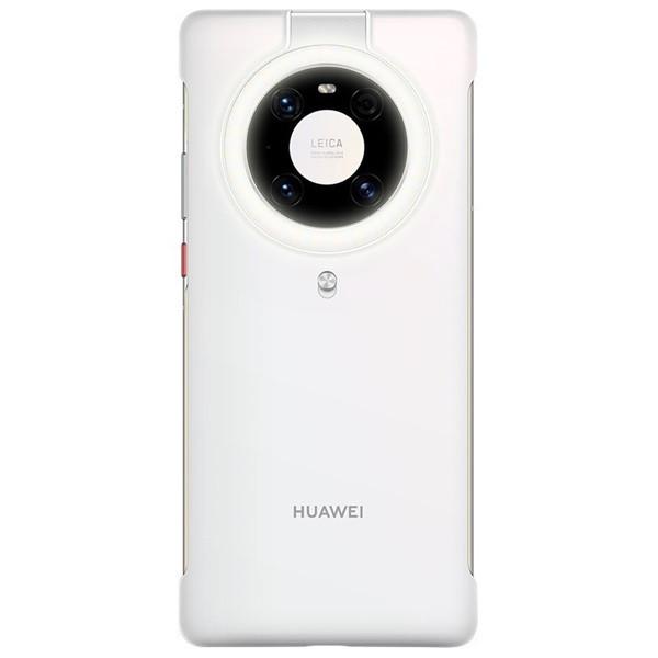 Huawei Mate 40 Pro Ring Light Phone Case (White)