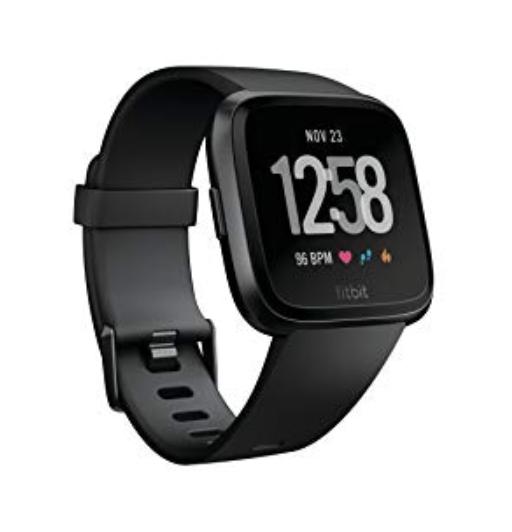 Fitbit Versa Black Aluminium,CJK