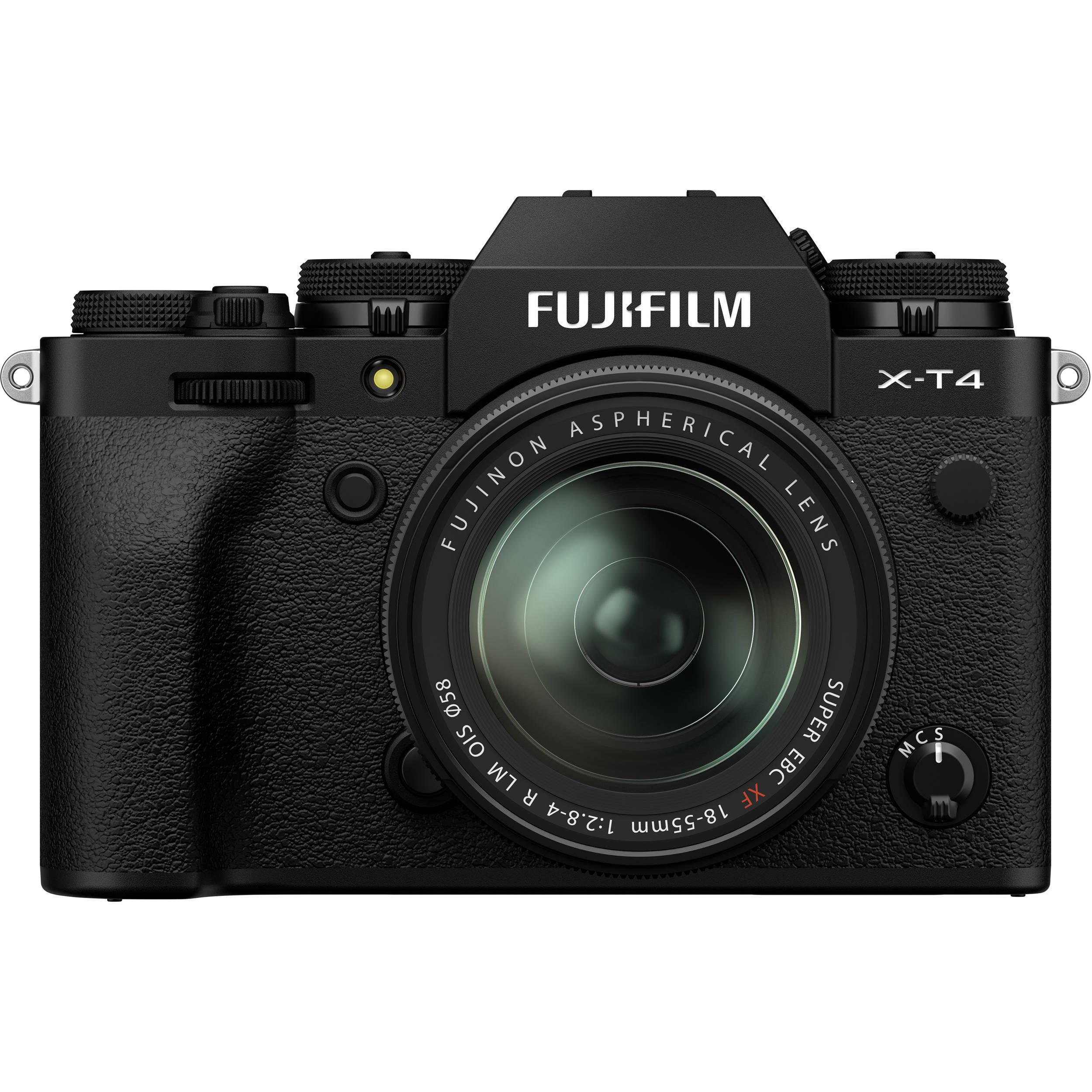 Fujifilm X-T4 Kit (XF 18-55mm f/2.8-4 R LM OIS) Black