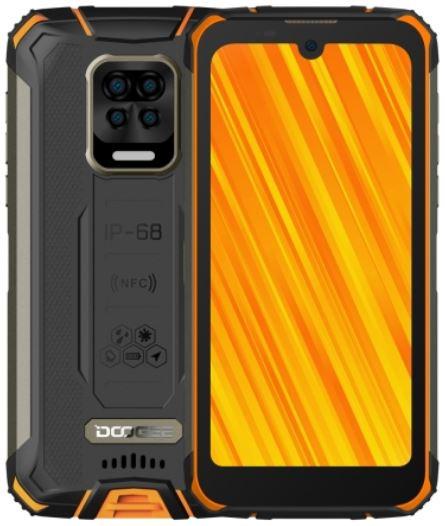 DOOGEE S59 Pro Dual Sim Rugged Phone 128GB Orange (4GB RAM)