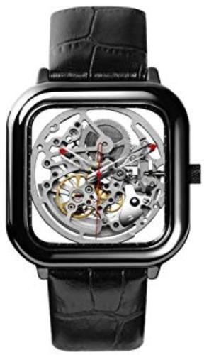 Xiaomi MI CIGA Design Hollowed-out Mechanical Watch Silver