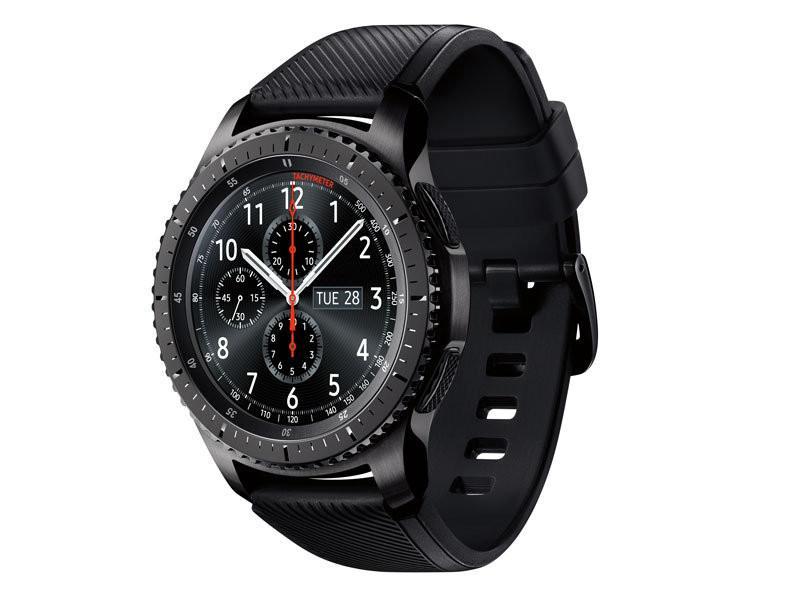 Samsung Galaxy Gear S3 R760 Gear S3 Frontier Black фото