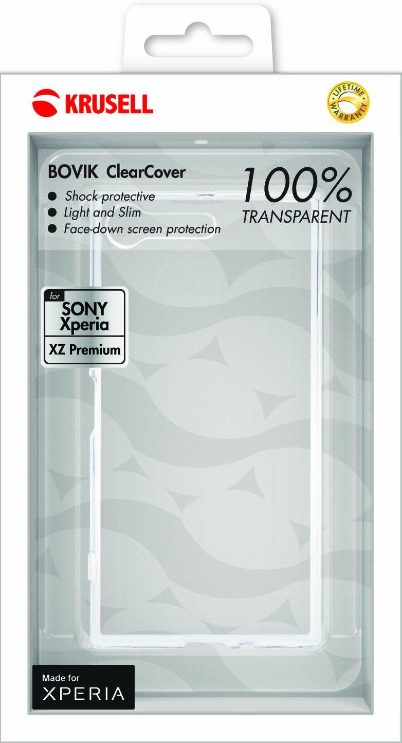 Krusell Bovik ClearCover - Sony Xperia XZ Premium фото