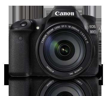 Canon EOS 80D kit (18-200)