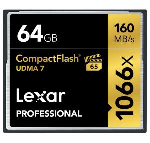 Lexar 64GB Professional 1066x CF (UDMA 7)