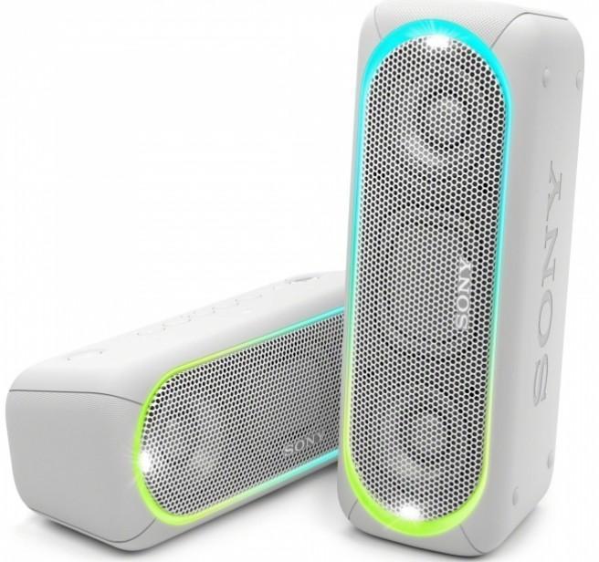 Sony SRS-XB30 Portable Wireless BT Speaker White фото