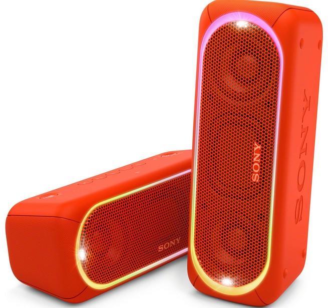Sony SRS-XB30 Portable Wireless BT Speaker Red