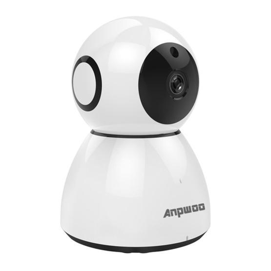 Anpwoo Snowman 1080P HD WiFi IP Camera (White)