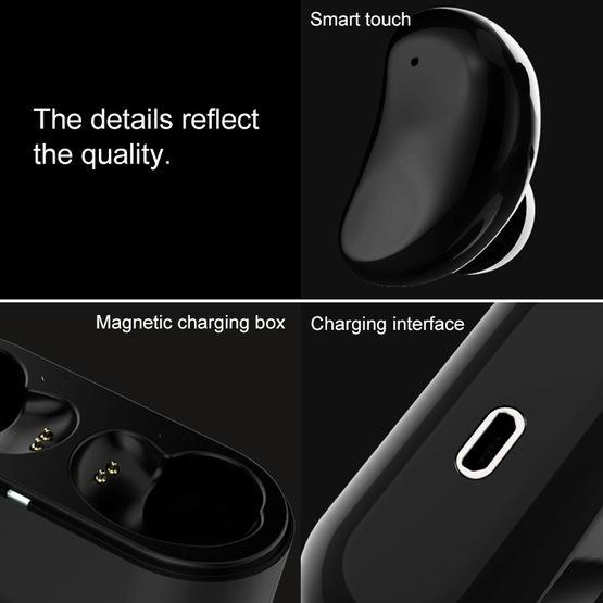 REMAX TWS-5 TWS Bluetooth 5.0 Smart Touch Wireless Bluetooth Earphone (White)