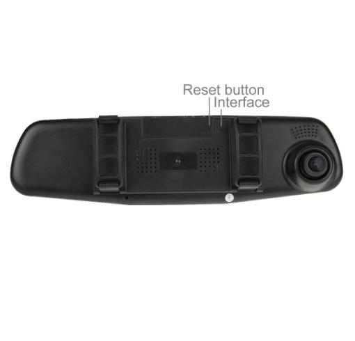 Car DVR - G20 HD 1080P 4.3 inch Screen Display with Reversing Camera