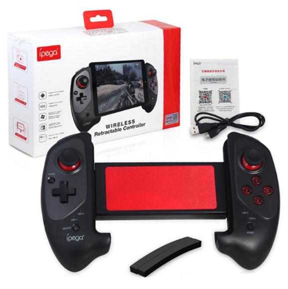 ipega PG-9083 Bluetooth Game Controller Gamepad with Practical Stretch Joystick Pad