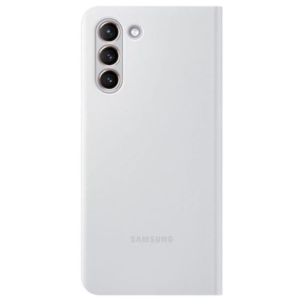 Samsung Galaxy S21 Smart LED Phone Cover Light Gray