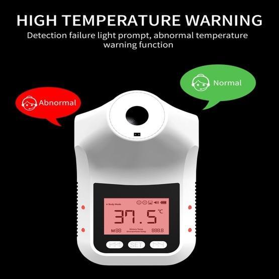 K3 Pro Handsfree Non-contact Forehead Body Light-sensitive Distance Sensor Infrared Thermometer