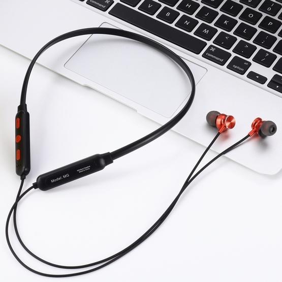 MG-G24 Bluetooth 4.2 Sport Wireless Bluetooth Earphone (Black Red)