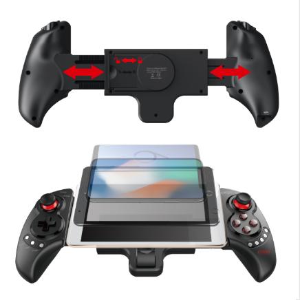 ipega PG-9023S Wireless Bluetooth Telescopic Controller Eat Chicken Artifact(Black)