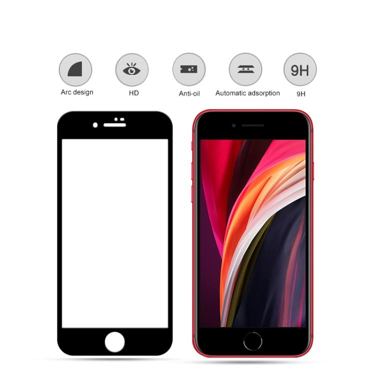(2 pcs/Set) mocolo 0.33mm 9H 2.5D Full Glue Tempered Glass Film for iPhone SE (2020)