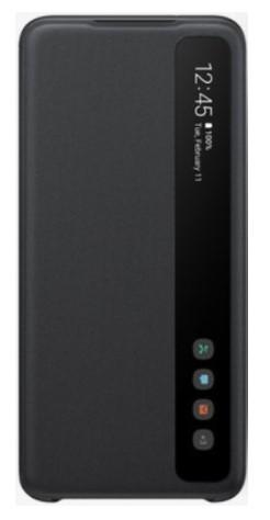Samsung Galaxy S20 Dual Sim G980FD 128GB Pink (8GB RAM) + FREE Samsung Galaxy Clear View/LED Back Phone Cover (Black)