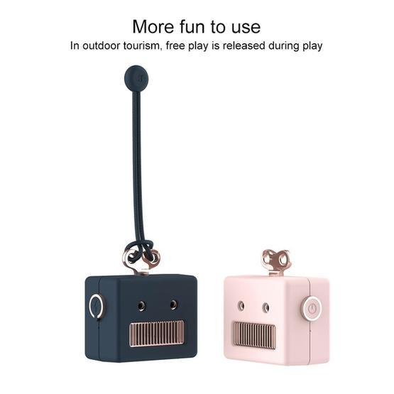 3life-307 3W 5V Mini Robot Retro Wireless Bluetooth Speaker (Blue)