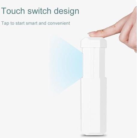 Telescopic UV LED Light Sterilizer Disinfection Stick Lamp (White)