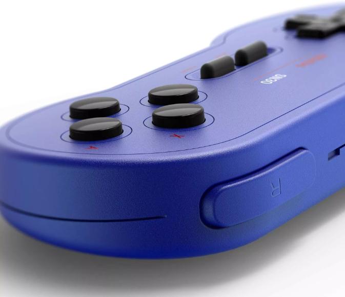 8BitDo SN30 Wireless Bluetooth Controller (Blue)