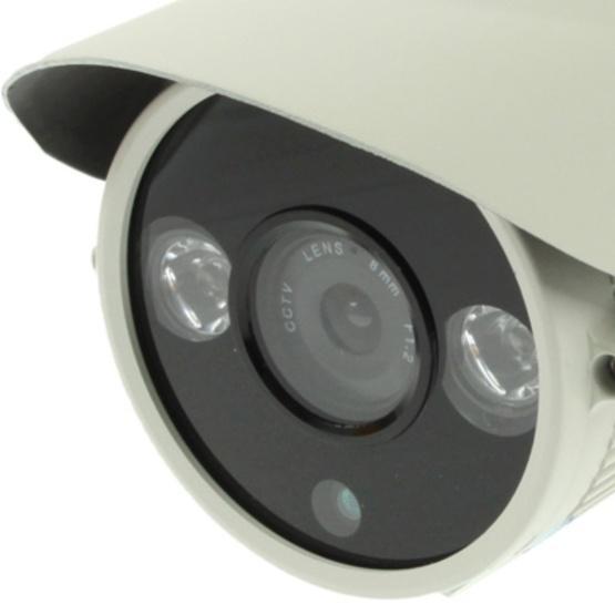 1 / 3 SONY 700TVL 8mm Lens Array IR & Waterproof Color Dome CCD Video Camera, IR Distance: 50m