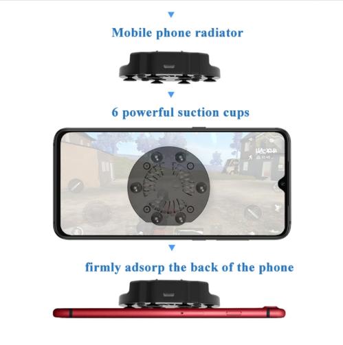 Z10 Multi-Function Stealth Bracket Mobile Phone Tablet Eat Chicken Hand Travel Radiator