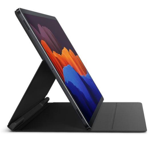 Samsung Galaxy Tab S7 Plus Book Cover Black