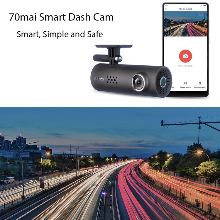 Car DVR - Original Xiaomi Midrive D01 70 Mai Smart Dash Cam (RU Version)