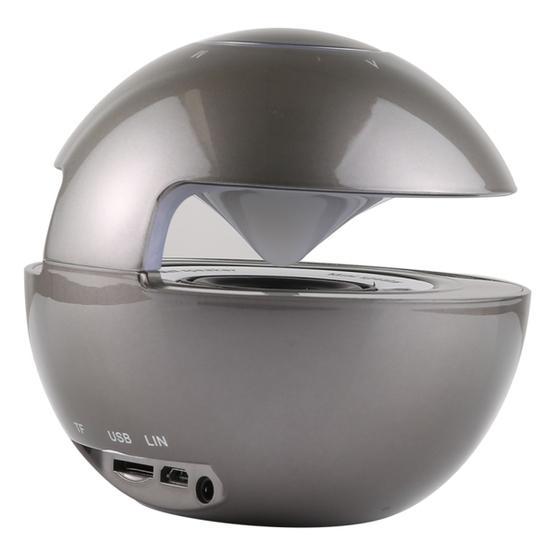 BT-118 Mini Wireless Bluetooth Speaker with Breathing Light (Grey)