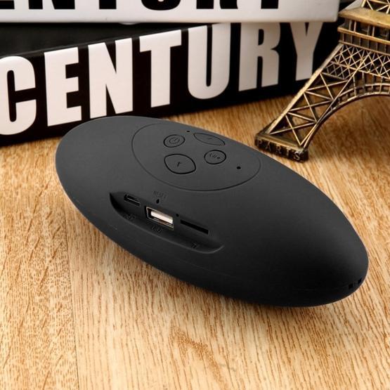 Mini Bluetooth Speaker Portable Wireless Speaker Sound System 3D Stereo Music Surround TF USB Super Bass Column Acoustic System(black)