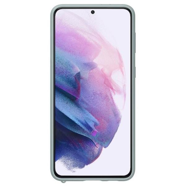 Samsung Galaxy S21 Plus Kvadrat Phone Cover Mint Gray