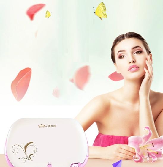 Mini Portable UV Sterile Machine Portable Ozone Disinfection Box Personal Care (Purple)