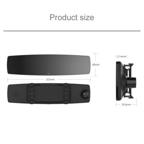 Car DVR - Original for Xiaomi Xiao YI Mirror Dash Camera, 4.3 inch IPS Touch Screen