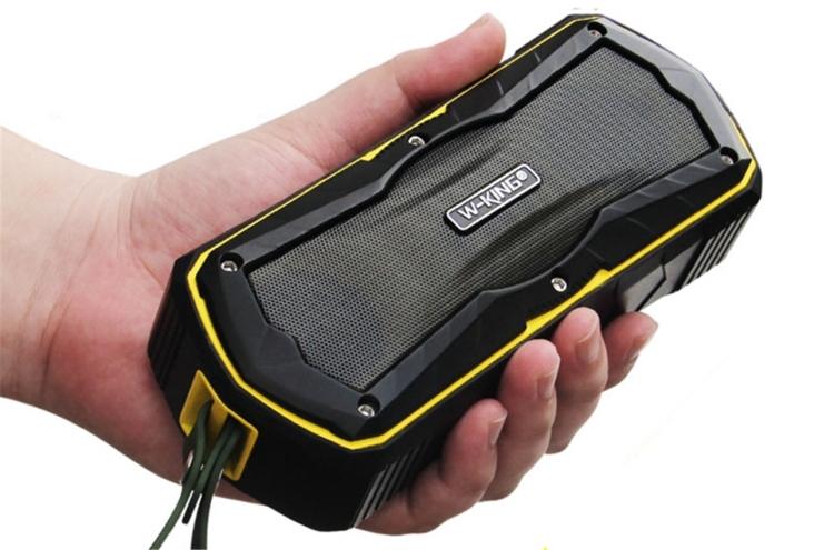 W-king S9 Outdoor Speakers Wireless Bluetooth Speaker Portable Waterproof Speakers(red)