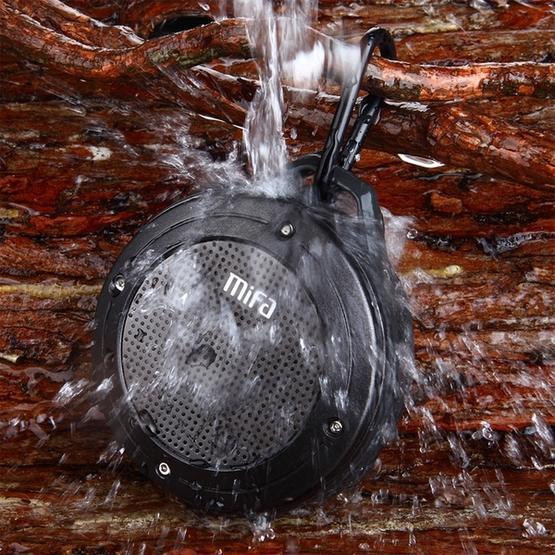 mifa IXP6 Waterproof Mini Portable Bass Wireless Bluetooth Speaker (blue)