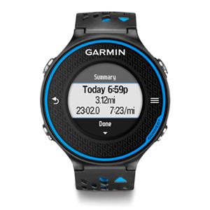 Garmin Forerunner 620 Outdoor GPS Watch (Black/Blue)