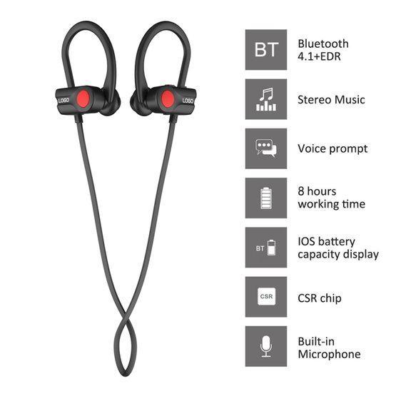 A2 Bluetooth 4.1 Stereo Sports Bluetooth Earphone